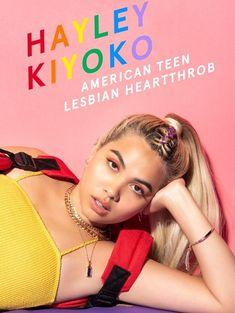 "alyciasgold: ""Hayley Kiyoko for NYLON Magazine "" Hailey Kiyoko, Pretty People, Beautiful People, Jessie Paege, American Teen, Lgbt Rights, Lesbian Pride, Celebs, Celebrities"