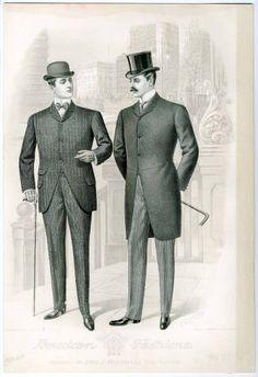 1900, Plate 003 :: Costume Institute Fashion Plates
