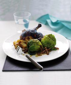 This impressive Chinese-inspired blackened five-spice duck recipe makes an ideal dinner party dish.