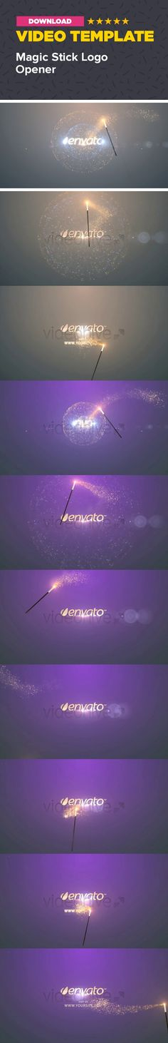 christmas, fantasy, glossy, gold, harry potter, lights, magic, old, stars, stick, wizard After effects HD resolution project. You need TRAPCODE PARTICLE plugin. Optical flares are pre-render. Length 0:14 seconds. Frp 25 You can change logo and site name. So all text. You can change logo a text color and you can change background color too. Very easy to modificate. Help file included.   Trapcode particles are not pre-render so you can change particle system too.   Music is composite from…