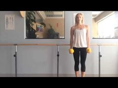 Pilates Arm Workout With Weights - 10 minutes - Day 13 of the #mindbodymat challenge.