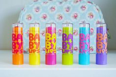 Baby lips by Maybeline Baby Lips Maybelline, Lipgloss, Tumblr Quality, Just Girly Things, Beauty Room, Love Makeup, Lipstick Colors, Beauty Make Up, Hair And Nails