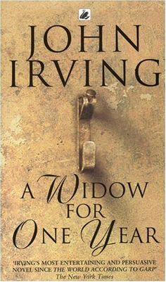 Irving has this gift of writing that will just suck you in and not allow you to let the book down