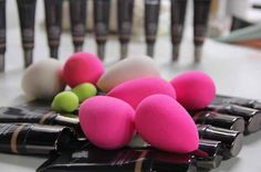 If you've ever watched a YouTube makeup tutorial, you may be familiar with these little egg-shaped sponges called BeautyBlenders.