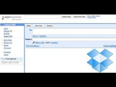 Email Files to Dropbox to Manage File Sharing Applications