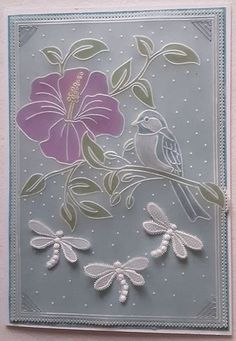 Julie Campbell, Parchment Cards, You Have No Idea, Card Patterns, Pretty Good, Happy Friday, Color Change, Something To Do, Paper Crafts