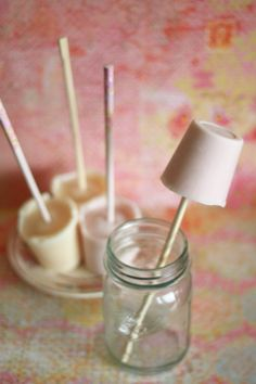 ONE ingredient! Poke a chopstick through the foil lid of a kid-sized yogurt, freeze, and voila! Delicious, healthy, and refreshing frozen yogurt pops - the simplest frozen yogurt pop recipe ever.