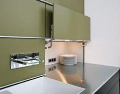 Most Innovatively Smart Kitchen Interior Designs Smart Kitchen, Modern Kitchen Cabinets, Modern Kitchen Design, Interior Design Kitchen, Diy Kitchen, Kitchen Decor, Open Cabinets, Kitchen Corner, Kitchen Sink