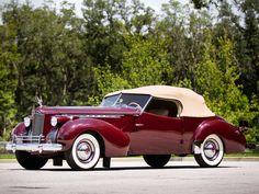 Packard 180 Super Eight Convertible Victoria 1941