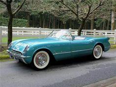 1955 Chevrolet Corvette.