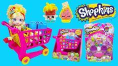 Shopkins XL Shoppin' Cart Series 1 & Shopkins Series 2 12-Pack | Kids Pl...