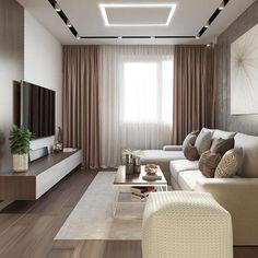 Living Room Tv Unit Designs, Ceiling Design Living Room, Home Room Design, Home Interior Design, Modern Living Room Design, Classy Living Room, Living Room Decor Cozy, Living Room Interior, Home Living Room