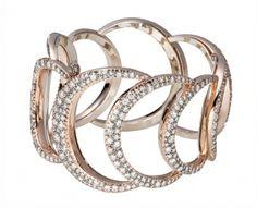 #coral #diamond #bracelet
