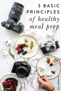 3 Basic Principles of Healthy Meal Prep | Meal Prep for The Week | Looking for a healthy eating plan? Click for meal planning ideas and weekly meal prep tips that will help you cook nutritious meals, get more organized and improve your general productivity. | Healthy Living | Meal Prep | Meal Planning | Four Wellness #mealprep #mealplanning #healthyeating #healthyrecipes #organize #productivity
