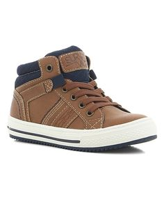 Take a look at this Natural Zip-Accent Todd Sneaker today! Kid Shoes, Classic Looks, High Tops, Zip Ups, High Top Sneakers, Take That, Lace Up, Natural, Fitness