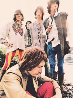 Rolling Stones  Photo session for beggars banquet summer of 1968