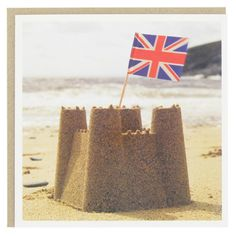 Building sandcastles at the seaside