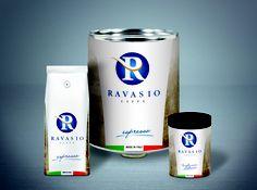 Ravasio caffè: Anniversario packaging.  Concept, illustration and artwork