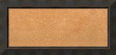 Framed Cork Bulletin Board