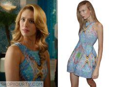 Jane the Virgin: Season 1 Episode 16 Petra's Printed High Neck Dress