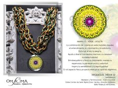 Mandala  Accesorios con Energía  Omsrima Copyright © 2013   Mas Informacion y Pedidos onshirman@gmail.com Facebook / Omsrima Mandala Energia Vital Jewellery Crochet Earrings, Facebook, Jewelry, Color Coordination, Mandalas, Accessories, Jewellery Making, Jewerly, Jewelery