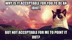 acceptable idiot  kmh