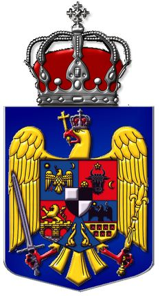 Coat of Romania Stema României - Romanian Heraldry -Heraldică Românească Romanian Royal Family, Selfish People, Romania Travel, King David, Many Men, Knights Templar, Photography 101, Family Crest, Interesting Reads
