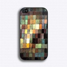 Paul Klee Painting - iPhone 4 Case, iPhone 4s Case and iPhone 5 case. $17.99, via Etsy.