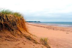 Prince Edward Island, Canada where Anne of Green Gables takes place and was filmed! my favorite childhood memory Red Sand Beach, Destinations, Holiday Places, Kayak, Prince Edward Island, Anne Of Green Gables, Island Beach, Canada Travel, Vacation Spots