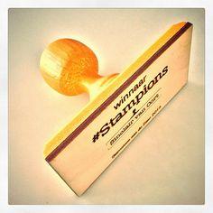 """Stampions op Instagram: """"De gouden #bokaal van #Stampions aan de Zaan 2015 #3Dprint #SADZ15 #stempel"""""""
