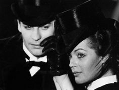 Romy Schneider and Helmut Berger in Ludwig directed by Luchino Visconti, 1972. Photo by Mario Tursi