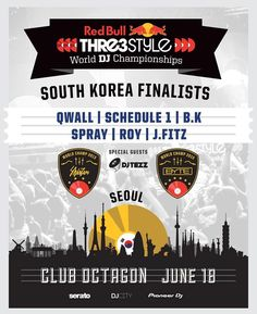 Turntablism | Thre3style See ya'll in June!  #RedBull #Thre3Style #DJBattle #WorldChampion #Turntablism #Turntables #Turntablist #International #France #USA #Canada #Japan #Chile #Germany #Battle #데일이 #턴테이블 #턴테이블리즘 #턴테이블리스트 #레드불 #디제이 #디제잉 #배틀 #디제이배틀 #미국 #일본 #프랑스 #카나다 #독일 #칠레 by joezinho.official http://ift.tt/1HNGVsC