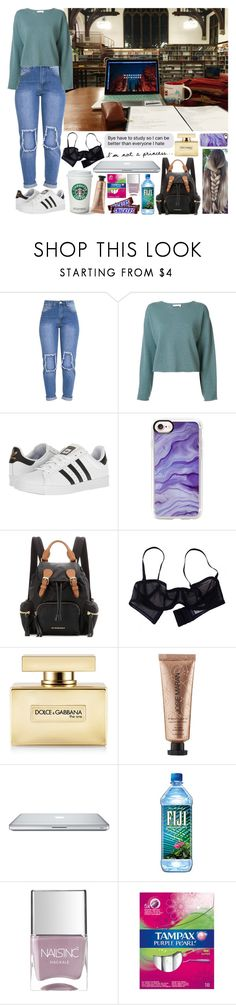 """""""Sin título #1349"""" by gisella-jb-pintos ❤ liked on Polyvore featuring Chloé, adidas, Casetify, Burberry, Eres, Dolce&Gabbana, Josie Maran and Nails Inc."""