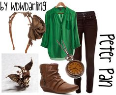 """""""Peter Pan"""" by wdwdarling on Polyvore"""