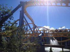 SkyRush at Hersheypark.  #Hershey #PA #Attractions #RollerCoaster