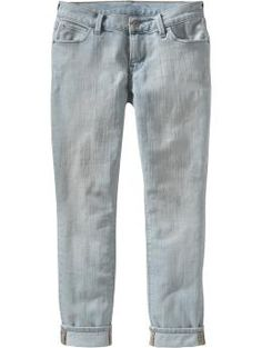 Women's Low-Rise Cropped Skinny Jeans