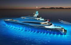 Tony Castro unveils new 65 metre superyacht design - New Designs - SuperyachtTimes.com