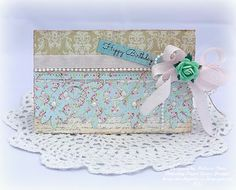 Creating from the Heart: ♥ Graceful Floral Lace Gift Set ♥