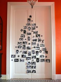 Get A Lifetime Of Project Ideas and Inspiration! Step By Step Woodworking Plans Christmas Door, Diy Christmas Tree, All Things Christmas, Diy Xmas, Driftwood Christmas Tree, Alternative Christmas Tree, Theme Noel, Xmas Decorations, Christmas Inspiration