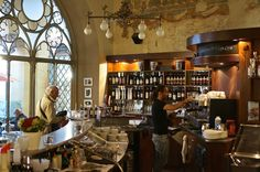We had an amazing #aperitivo at this stunning cafe with a view in charming #Bergamo - Instagram by souvenirfinder