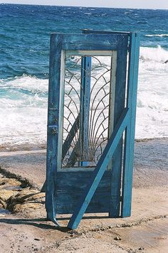 on the beach #doors