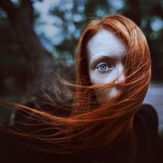 Amazing Portrait Photography by Tertius Alio. Tertius is a photographer based in Saint-Petersburg, Russia. Auburn, Gorgeous Redhead, Silhouette, Look At You, Shades Of Red, Shutter Speed, Freckles, Portrait Photography, Colour Photography