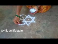 Sankranthi simple muggulu// pongal special Kollam//easy rangoli//6 - YouTube Padi Kolam, Muggulu Design, Simple Rangoli, Siri, Rangoli Designs, Legs, Make It Yourself, Youtube, Youtubers