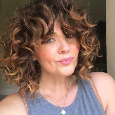 50 Gorgeous Light Brown Hairstyle Ideas to Rock a Hot New Look, Click web site other content Medium Black Hair, Medium Blonde Hair, Brown Curly Hair, Light Brown Hair, Short Curly Hair, Angled Bob Hairstyles, Blonde Bob Hairstyles, Cool Hairstyles, Hairstyle Ideas