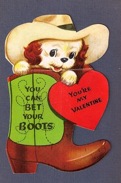 "Maybe I should pin this to my ""Boots, Boots, Boots"" board...or my ""Cowgirl Vintage"" board."