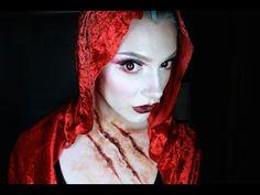 Halloween makeup: Little Red Riding Hood tutorial | Big bad wolf ...