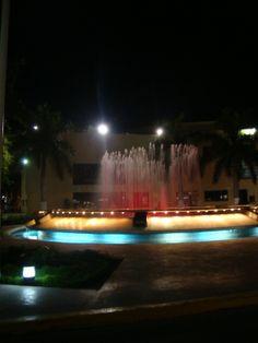 Centro de Ciudad del Carmen, Campeche, México.