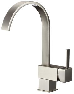 Single Handle Kitchen Faucet with Pull-Down Spray and Soap Dispenser