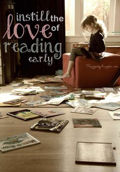 "My mom and her mom (my grandma) helped me find a love of reading, and it's led me to writing. I already bought a beautiful copy of ""The Chronicles of Narnia"" for bedtime stories when I have kids, and I plan to give them the same gift that Mom and Nana gave me >>> Instill the love of reading early..."