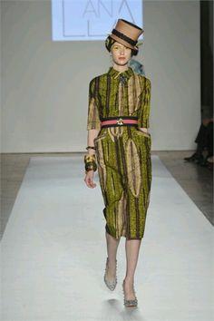 Haitian-Italian Designer Stella Jean, S/S 13
